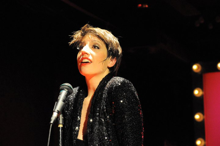 "From my one-woman show, ""Performing Tonight: Liza Minnelli's Daughter"" in 2011."