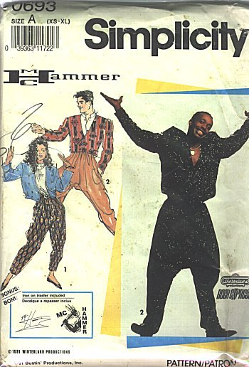 MC Hammer, ladies and germs.
