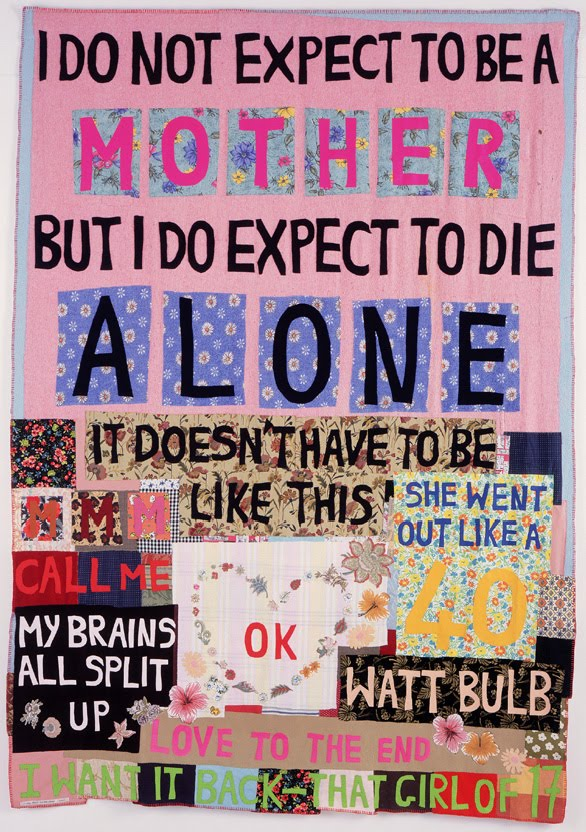 I do not expect to be a Mother, Tracy Emin. 2002. Private collection, courtesy Art Gallery of New South Wales, Australia © the artist