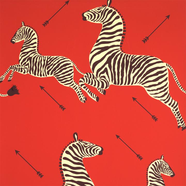 Run, zebras! Run for your life!
