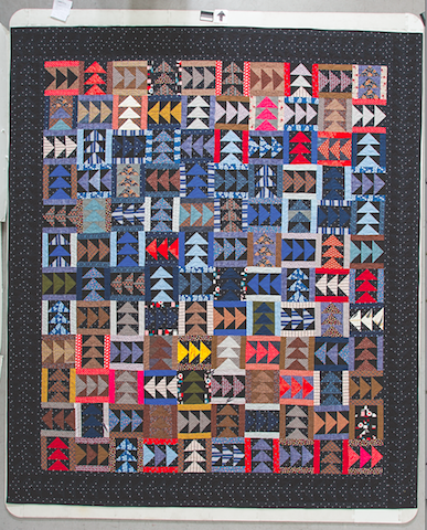 """Northbound."" From my forthcoming book, ""Make + Love Quilts: Scrap Quilts for the 21st Century."" Pre-order now at ctpub.com."