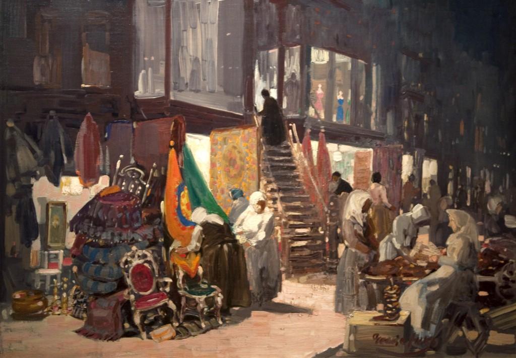 George B. Luks, Allen Street, c. 1905.