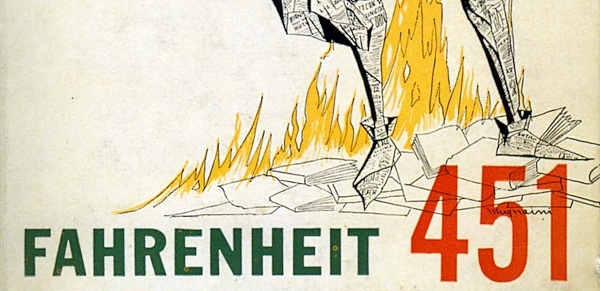 """The best part of Fahrenheit 451 is learning to spell """"fahrenheit."""" Also, the awesome graphic designs for the book over the decades."""