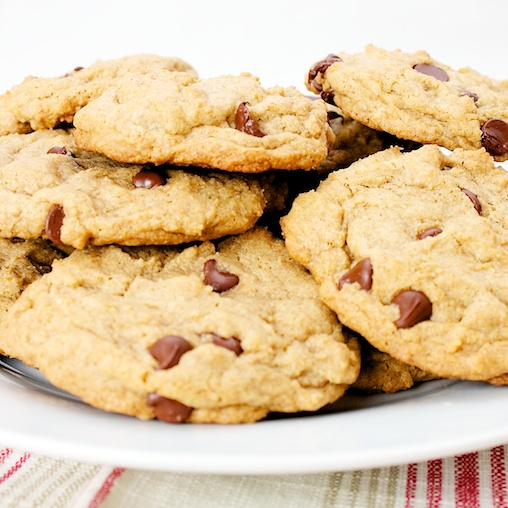 It's mesmerizing, looking through stock photos of chocolate chip cookys. Hundreds and hundreds of cookys and still, their power remains undiluted.